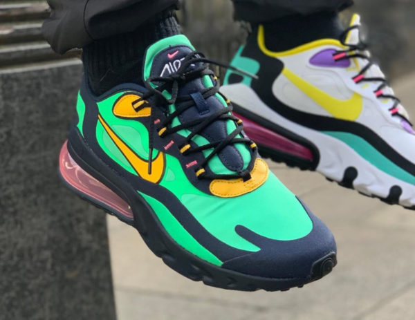 Nike Air Max 270 React Pop Art Electro Green AO4971-300 (1)