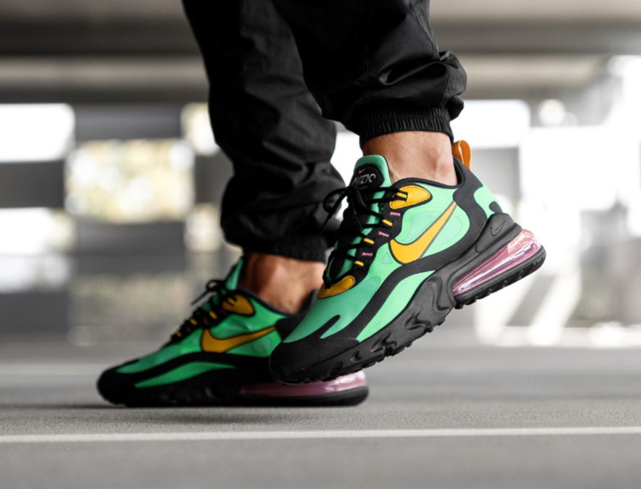 Nike Air Max 270 React Pop Art Electro Green AO4971-300