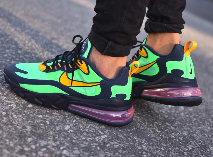 Nike-Air-Max-270-React-vert-noire-et-jaune-7 (1)