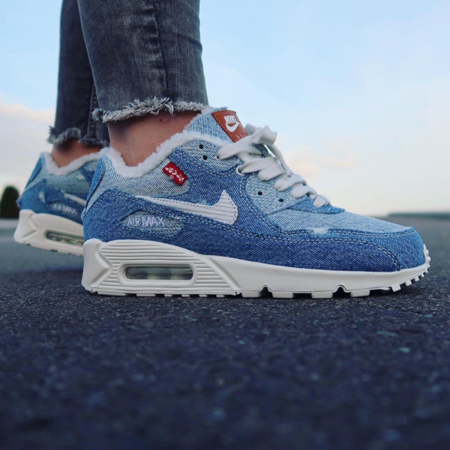 Nike Air Max 90 Levi's By You - @shoenica