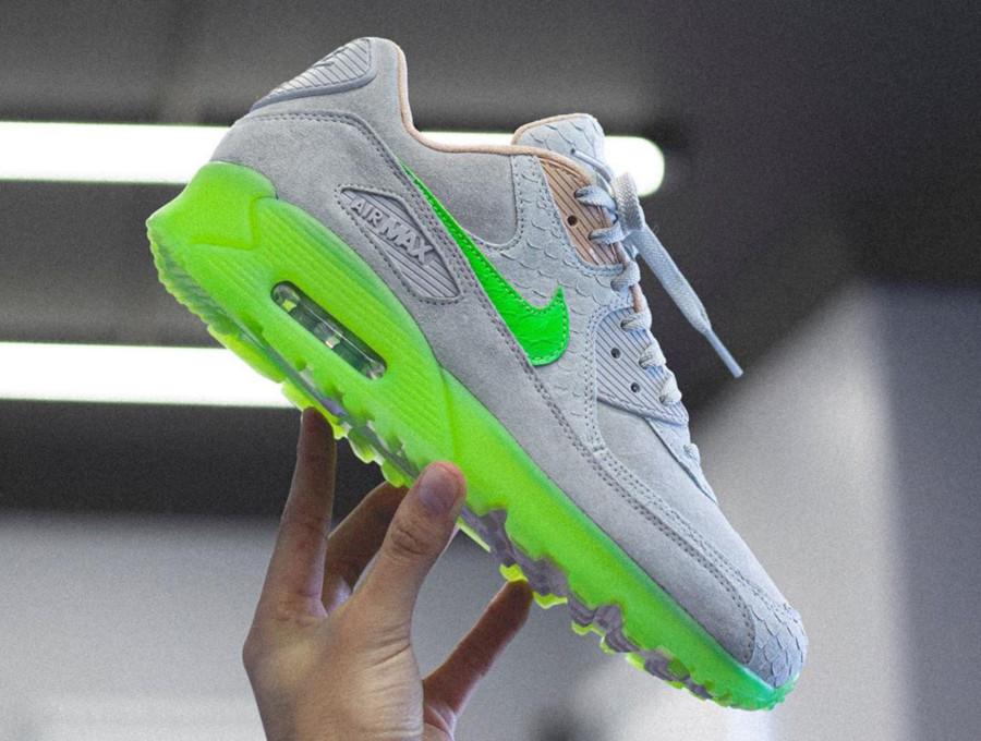 air max 90 fluo vert