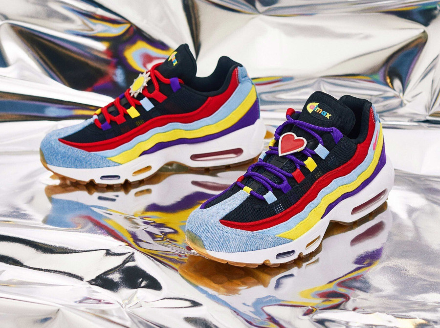 Nike-Air-Max-95-Special-Project-bleu-violet-jaune-et-orange-1