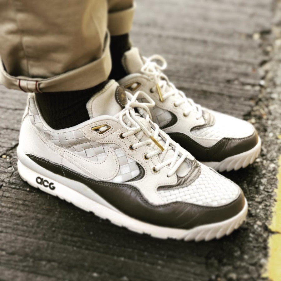 Nike Air Wildwood ACG Light Bone Soft Grey - @lee_songho