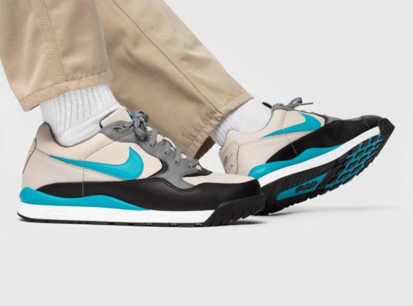 Nike Air Wildwood ACG beige turquoise et noire (1)