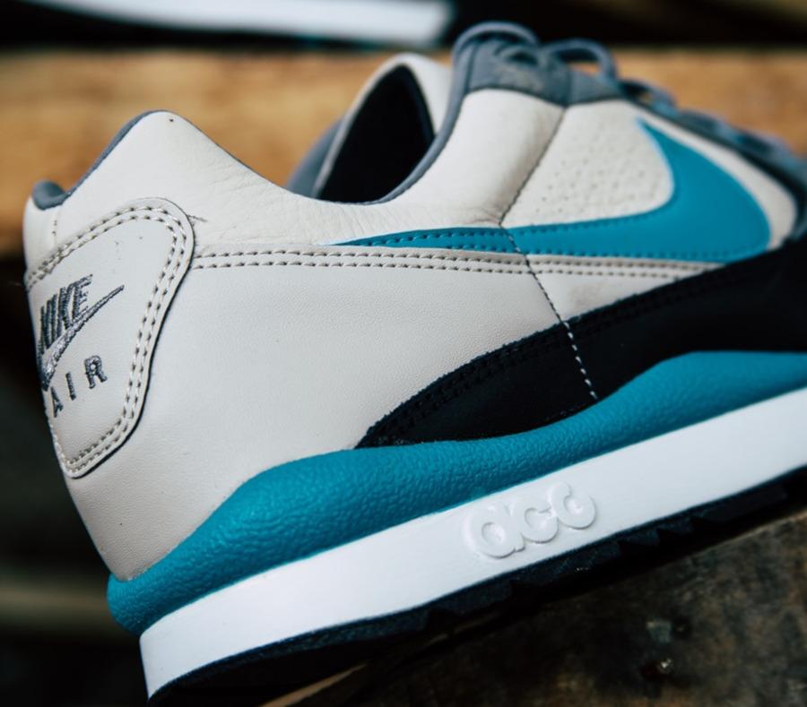 Nike Air Wildwood ACG beige turquoise et noire (2)
