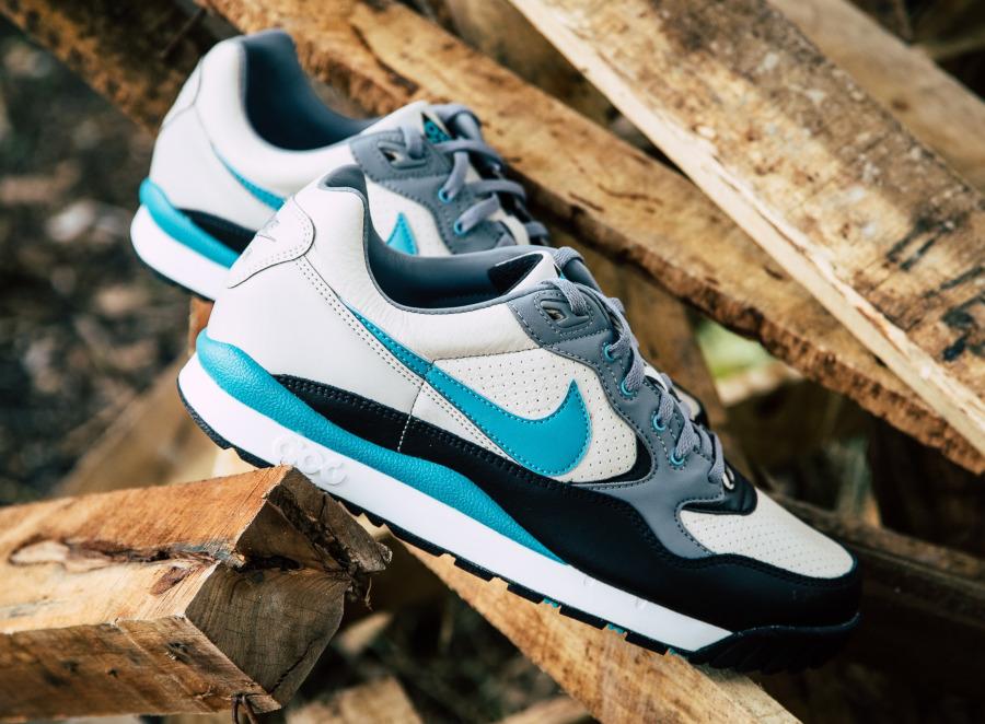 Nike Air Wildwood ACG beige turquoise et noire (3)