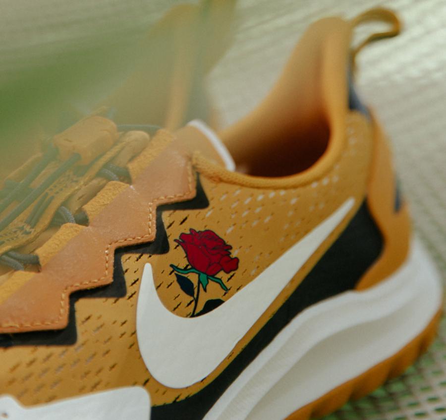 Nike Air Zoom Pegasus 36 Trail blanche et jaune moutarde CD0383-700 (2)