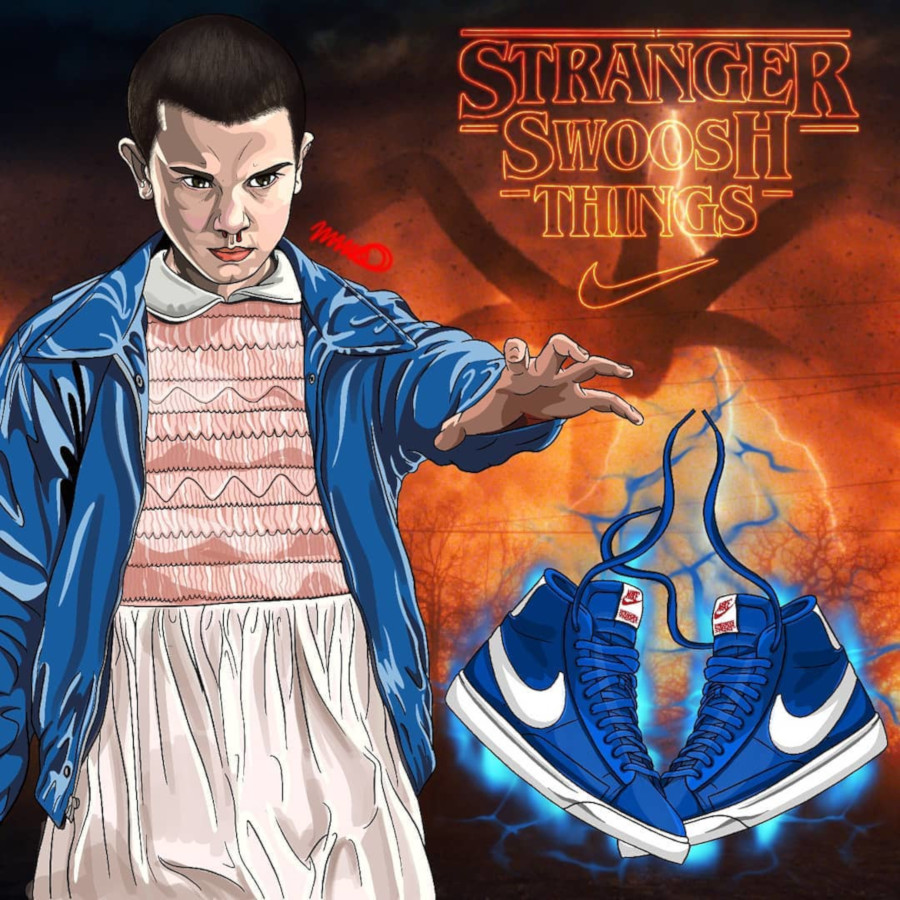 Nike Blazer Mid Stranger Things 4th July CK1906-400