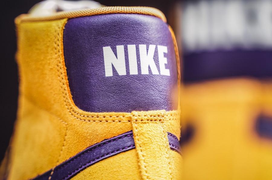 Nike-Blazer-mi-montante-en-suède-jaune-et-violet-1