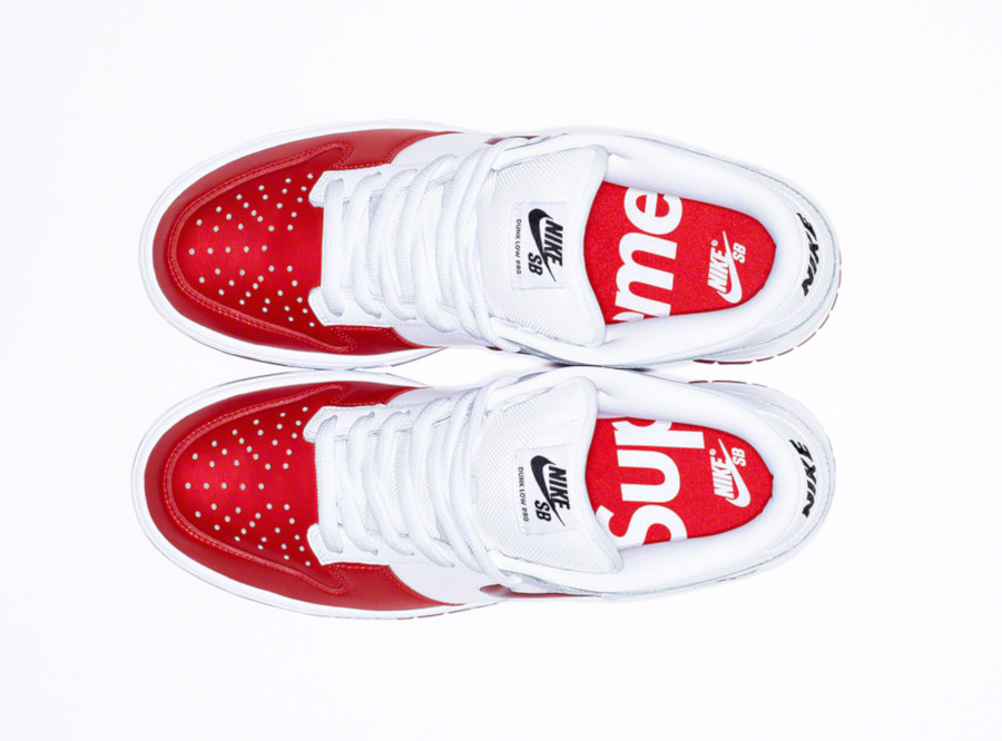 Nike Dunk Low SB blanche et rouge CK3480-600 (1)
