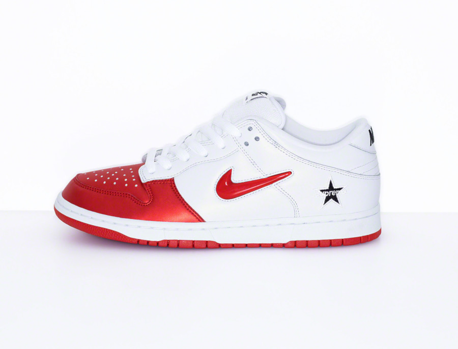 Nike Dunk Low SB blanche et rouge CK3480-600 (2)