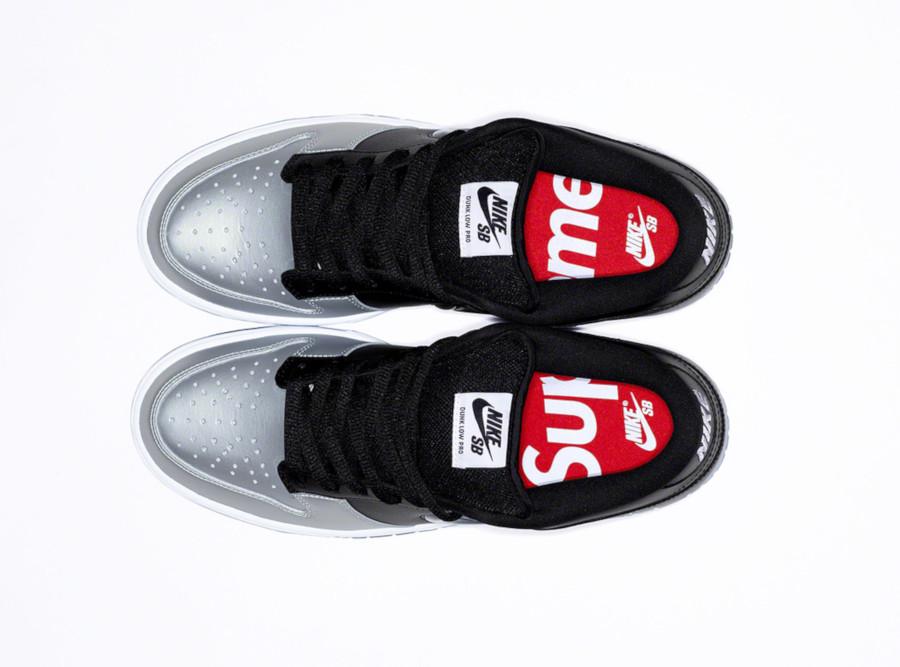 Nike Dunk Low SB noire et gris métallique CK3480-001 (1)