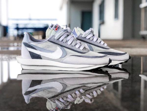 Nike LD Waffle grise blanche et noire (septembre 2019) (1)