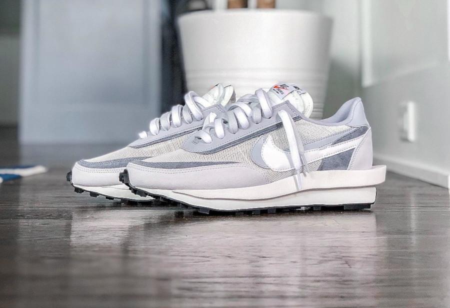 Nike LD Waffle grise blanche et noire (septembre 2019) (2)