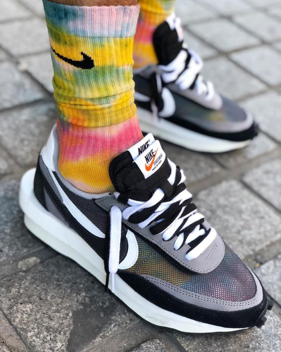 Nike LDWaffle Daybreak Sacai Black Bv0073-001