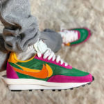 Sacai x Nike LDWaffle 'Pine Green Clay Orange Del Sol'