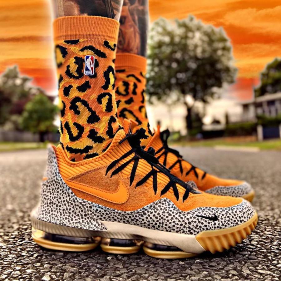 Nike Lebron 16 Atmos Safari - @kiwilakersfan
