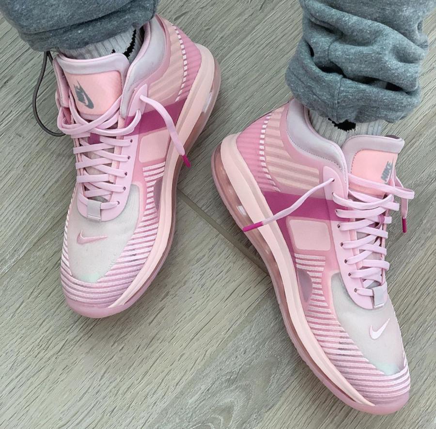 Nike Lebron James X JE toute rose (2)