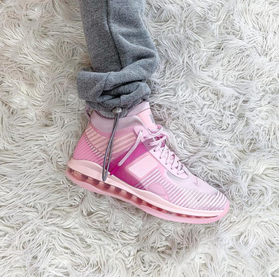 Nike Lebron James X JE toute rose (3)