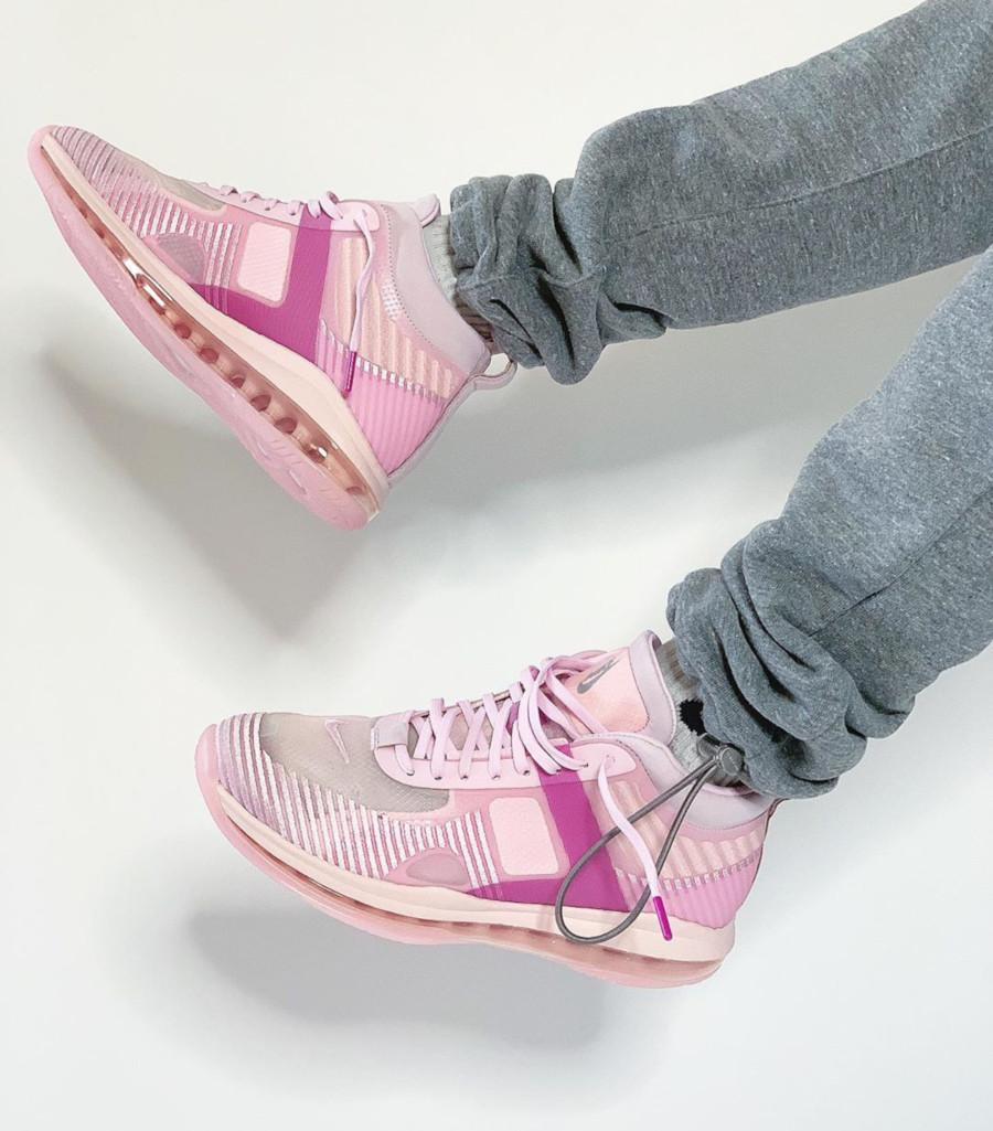 Nike Lebron James X JE toute rose (4)