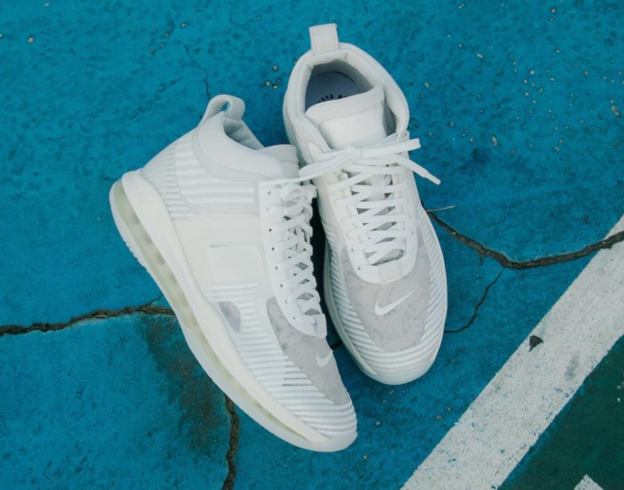 Nike Lebron X JE toute blanche (2)