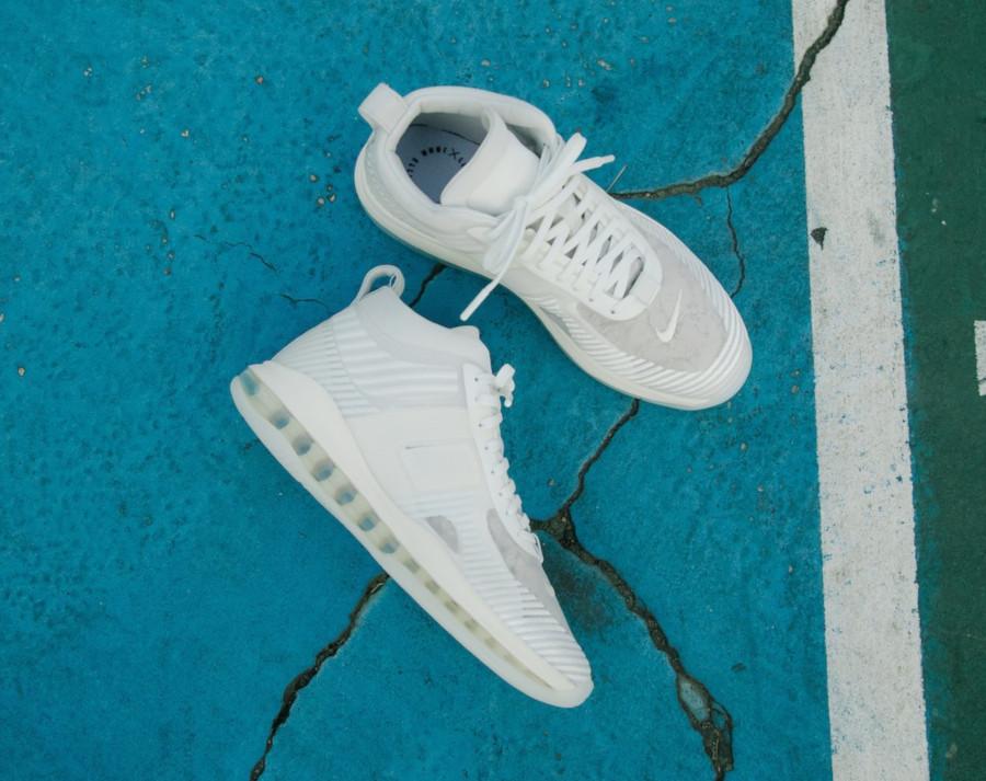 Nike Lebron X JE toute blanche (3)