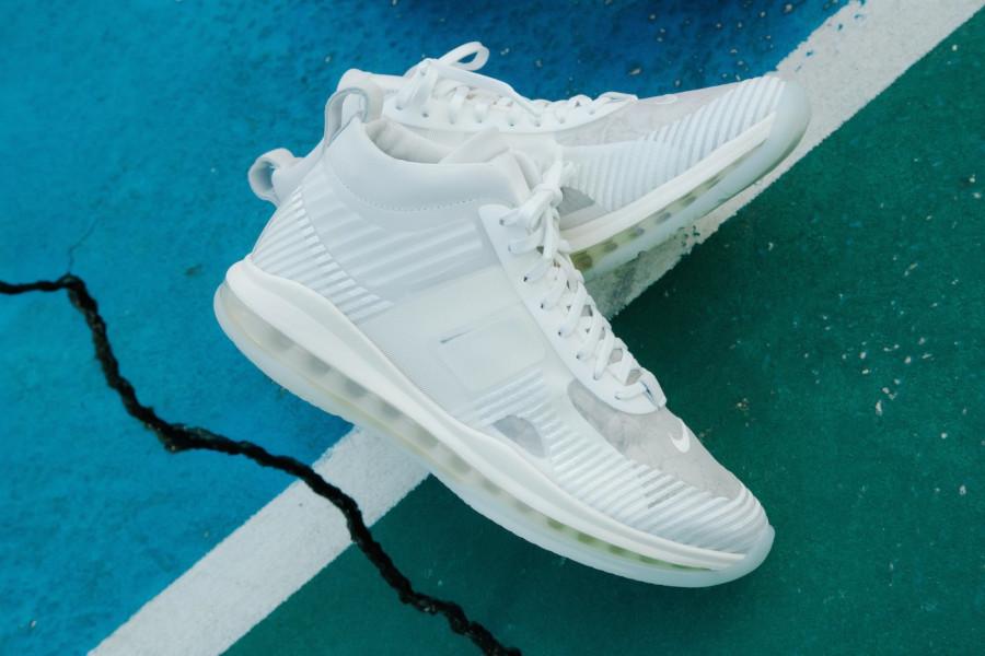 Nike Lebron X JE toute blanche (4)