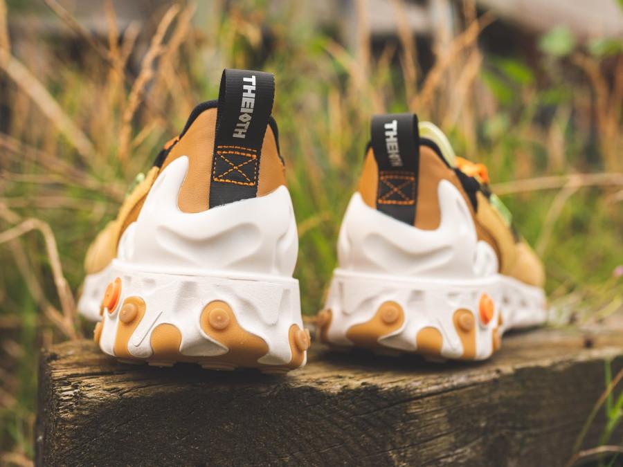 Nike React Sertu marron beige et noire (4)