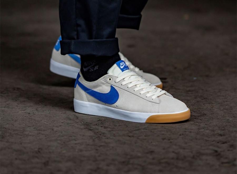 Nike SB Blazer Low GT Milkcrate 704939-103