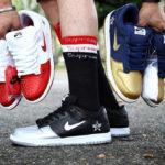 Supreme x Nike SB Dunk Low Pro 'Jewel Swoosh'
