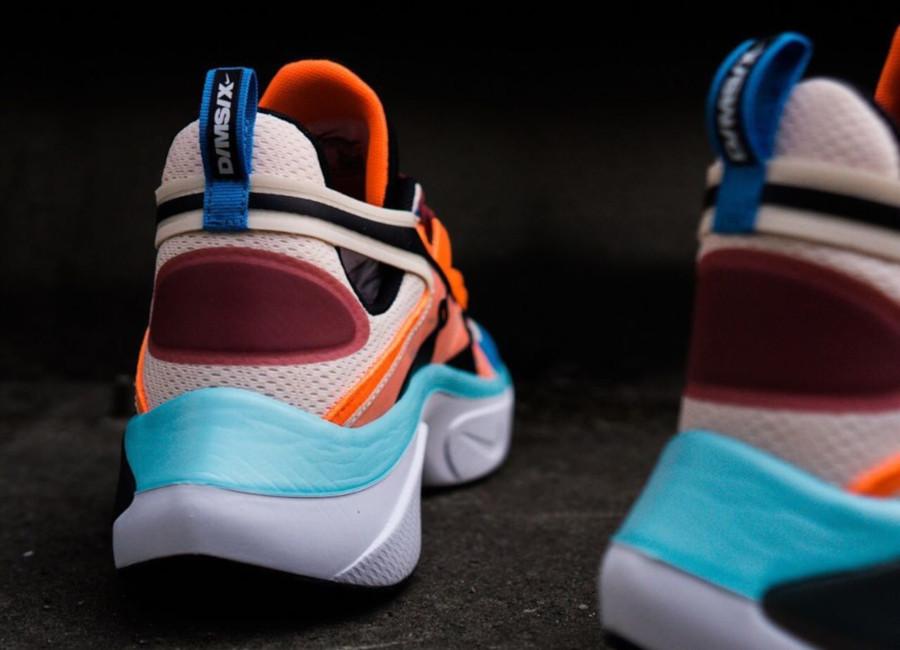 Nike Signal DMSX beige bleu ciel et orange (1)