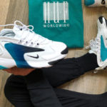 Nike Zoom 2K 'White Black Teal Nebula'