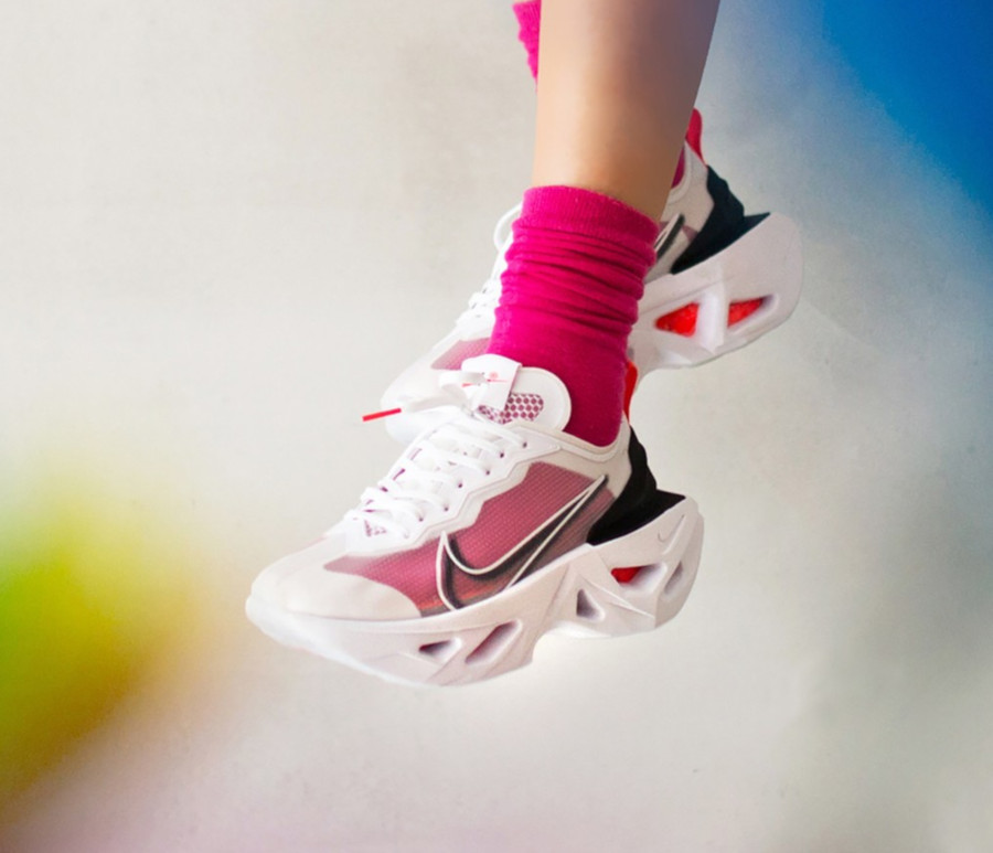 Nike Zoom Vista X Grind blanche rose et noire (2)