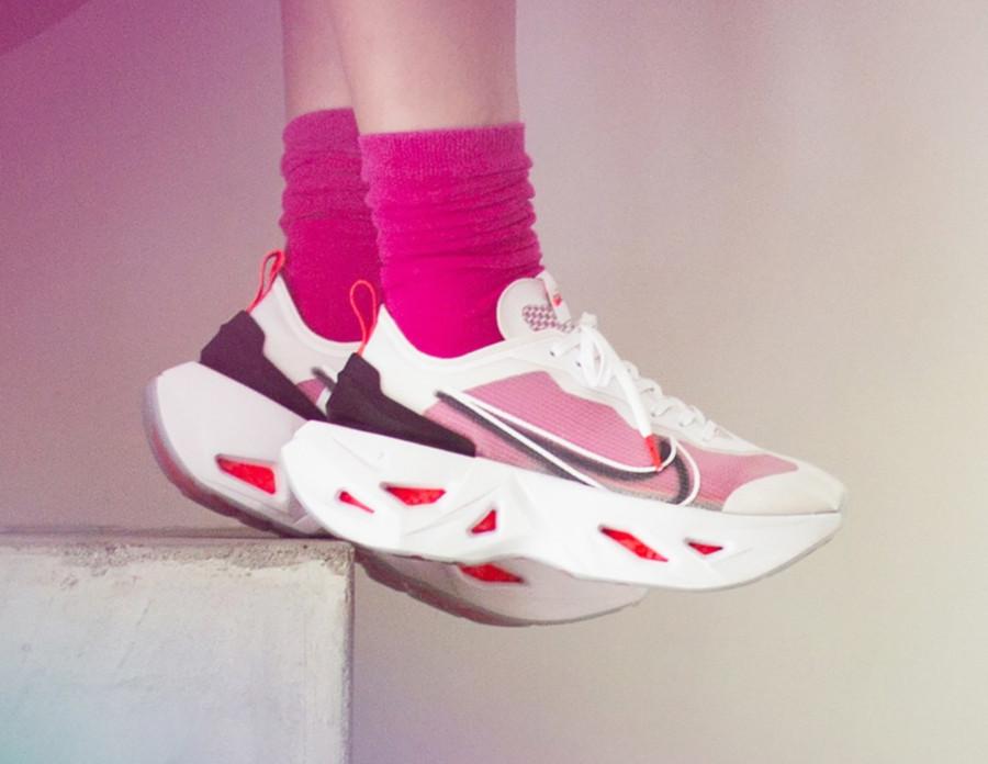 Nike Zoom Vista X Grind blanche rose et noire (3)