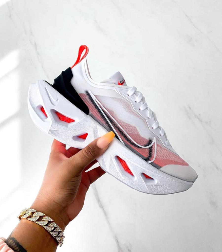 Nike Zoom X Vista Grind blanche Bright Crimson BQ4800-100