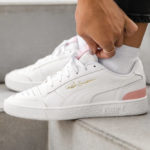 Puma Womens Ralph Sampson Lo 'White Bridal Rose'