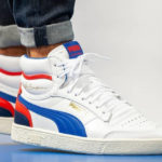 Puma Ralph Sampson Mid 'White Blue Red'
