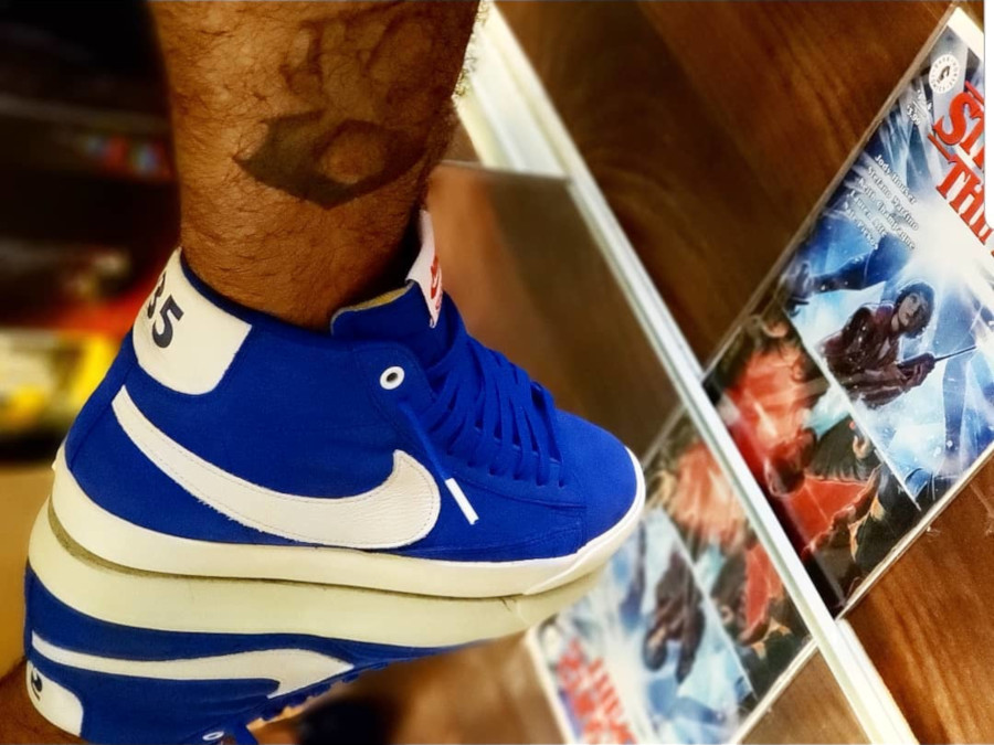 ST x Nike Blazer Mid Blue Game Royal OG Pack - @inkslinger818
