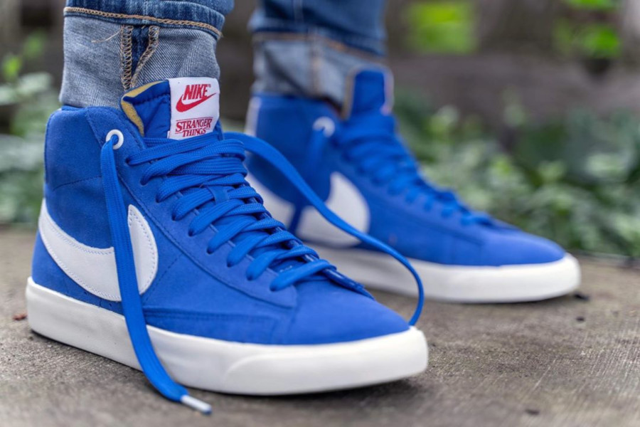 ST x Nike Blazer Mid Blue Game Royal OG Pack - @mattbierz