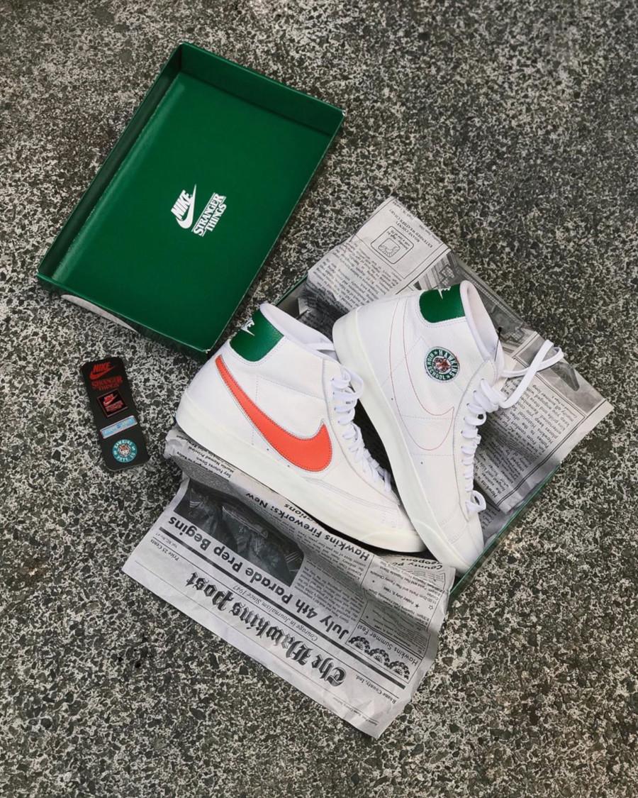 ST x Nike Blazer Mid Hawkins High - @christinajennifer