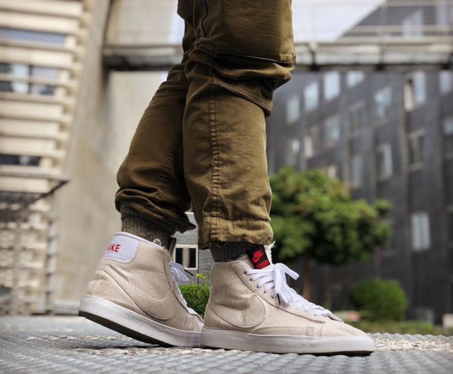 ST x Nike Blazer Mid Upside Down - @benstah23