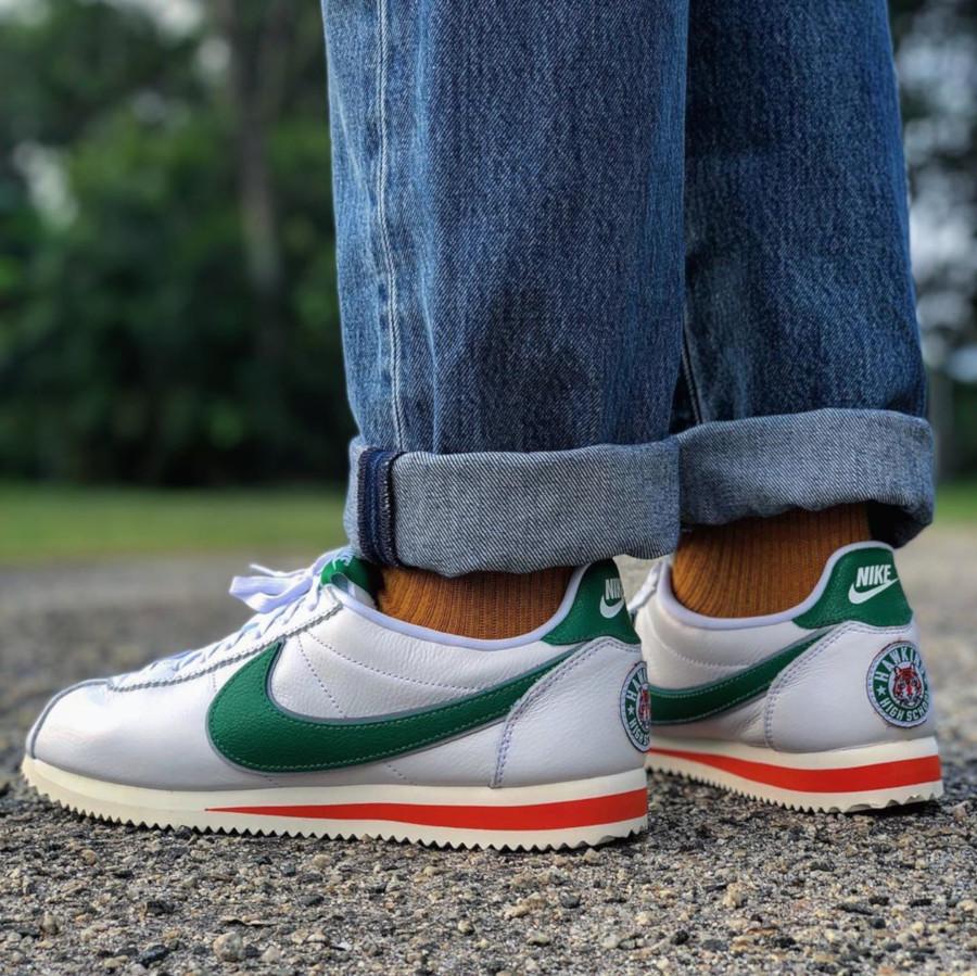 ST x Nike Cortez Hawkins High - @lil_solomone