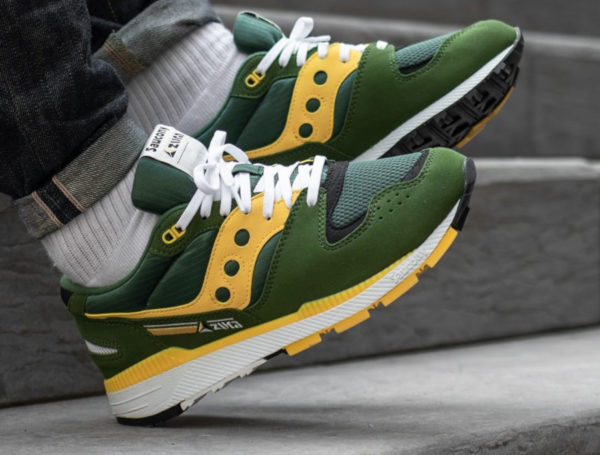Saucony Azura ST Green Yellow S70437-10 (couv)