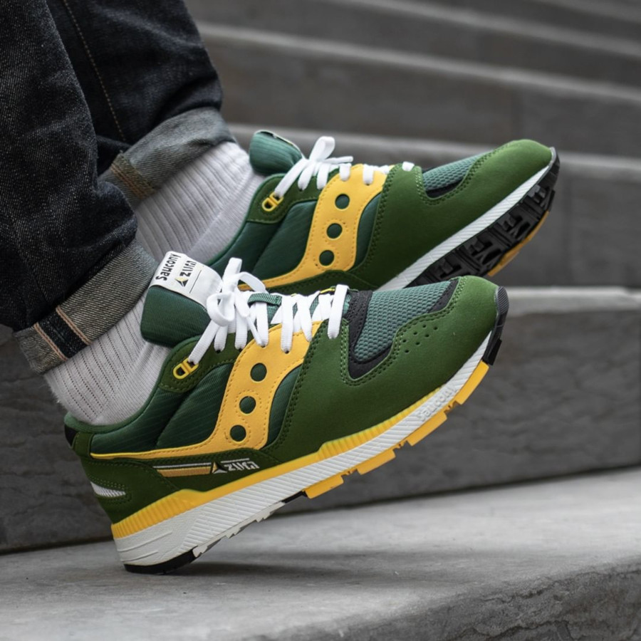 Saucony Azura ST Green Yellow S70437-10