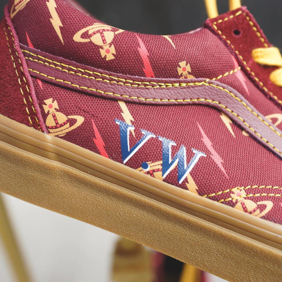 Vans Old Skool bordeaux V5VZP1 (2)