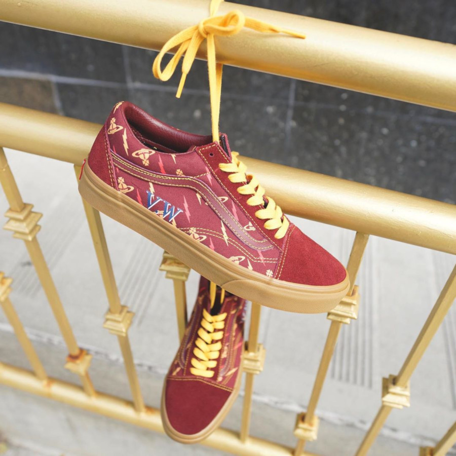 Vans Old Skool bordeaux V5VZP1 (3)