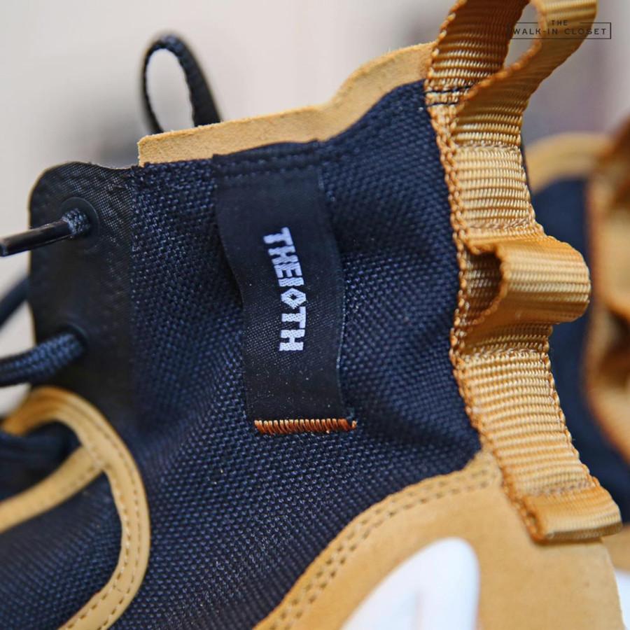 botte Nike React Ianga noire beige et blanche (3)