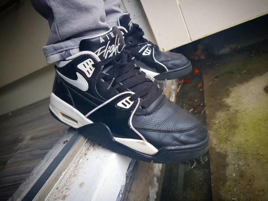 (2005) Nike Air Flight 89 Black White - @lexflex81