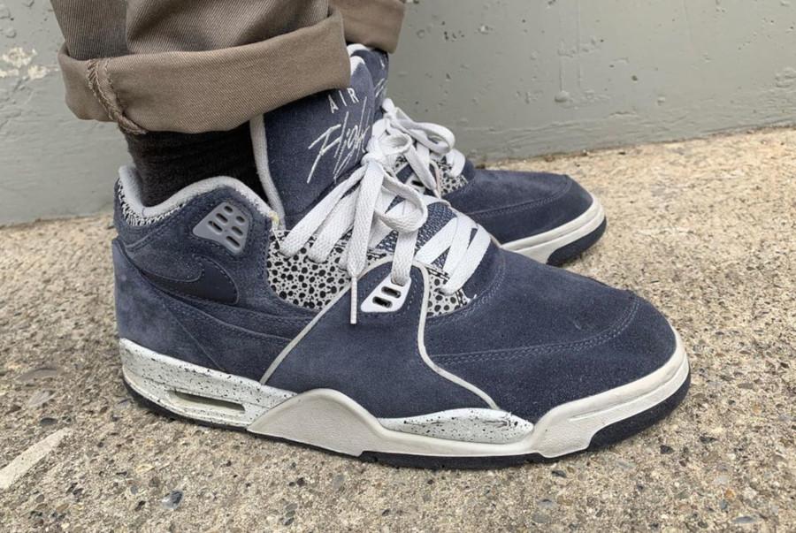 (2007) Nike Air Flight 89 Denim Suede Safari - @adamoyo