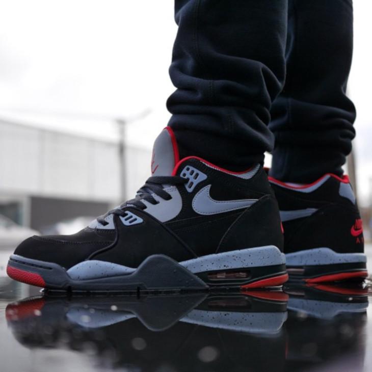 (2012) Nike Air Flight 89 Black Cement - @sneakerjunkienz